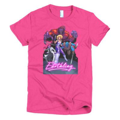 Earthling women's t-shirt