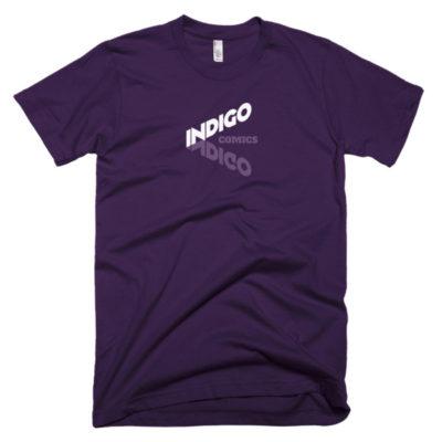 Indigo Comics men's t-shirt