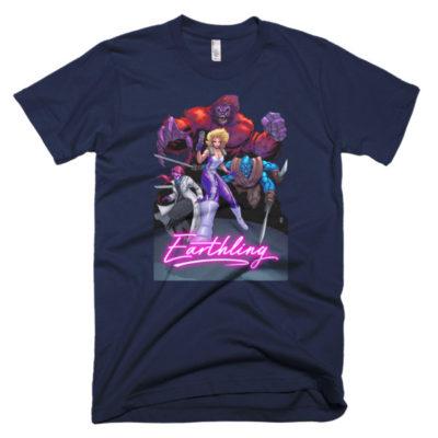 Earthling men's t-shirt