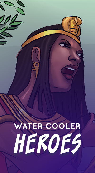 Water Cooler Heroes Comics