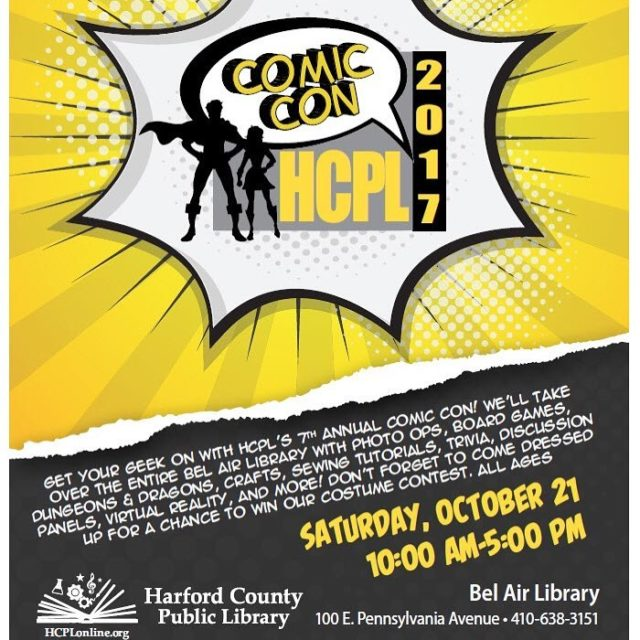 indigocomics will be presenting at the Harford County Public Libraryhellip