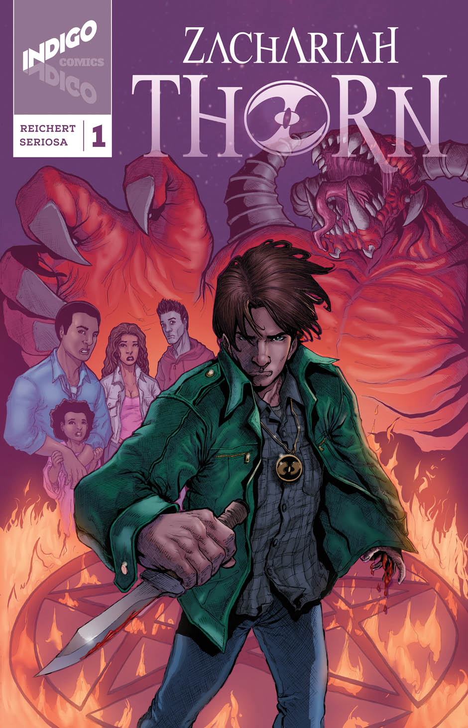 Zachariah Thorn Cover