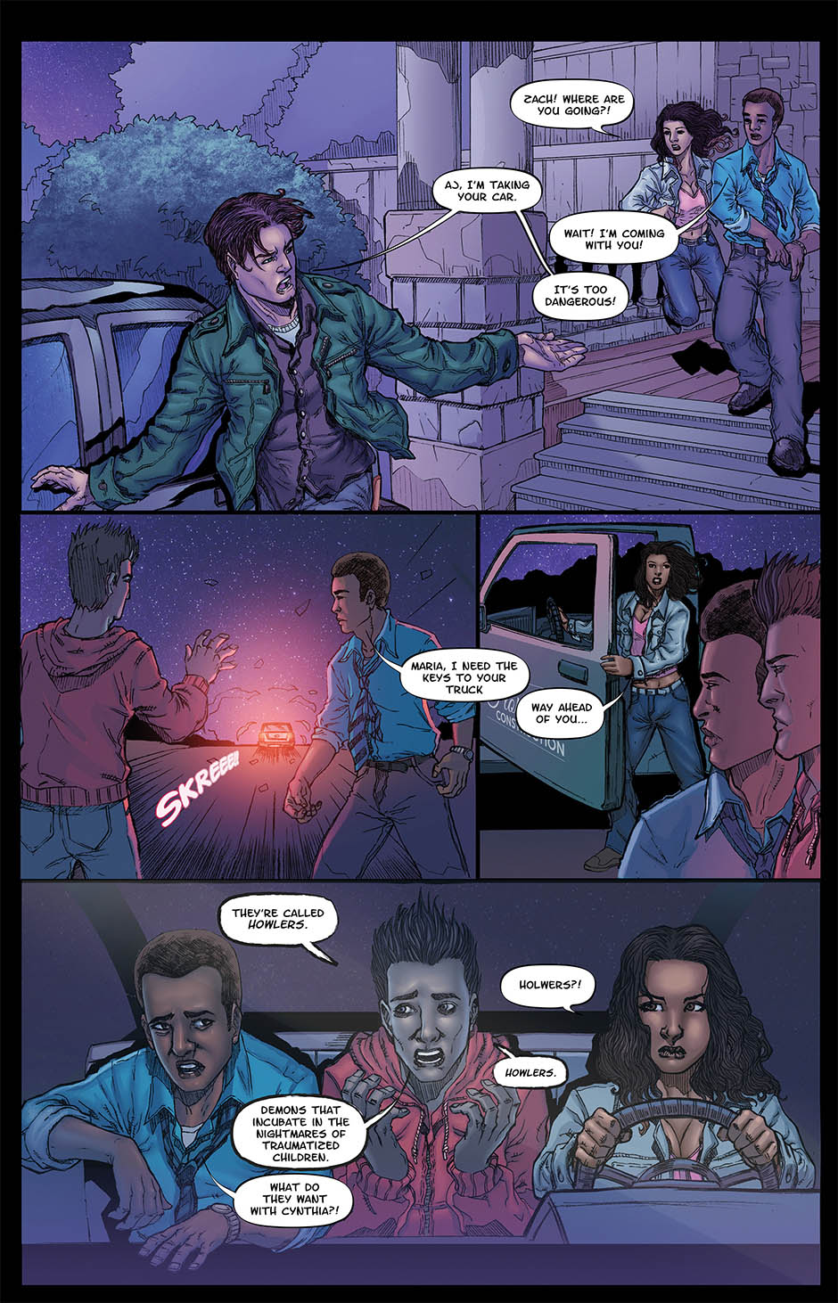 ZACHARIAH THORN BOOK 1 Page 16