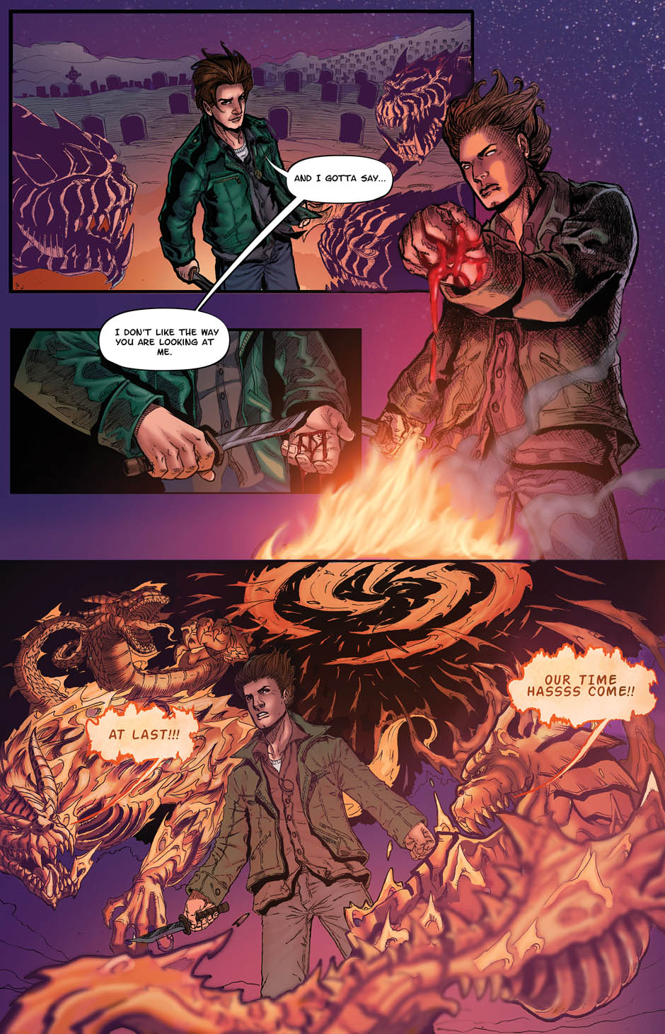 ZACHARIAH THORN BOOK 1 Page 20