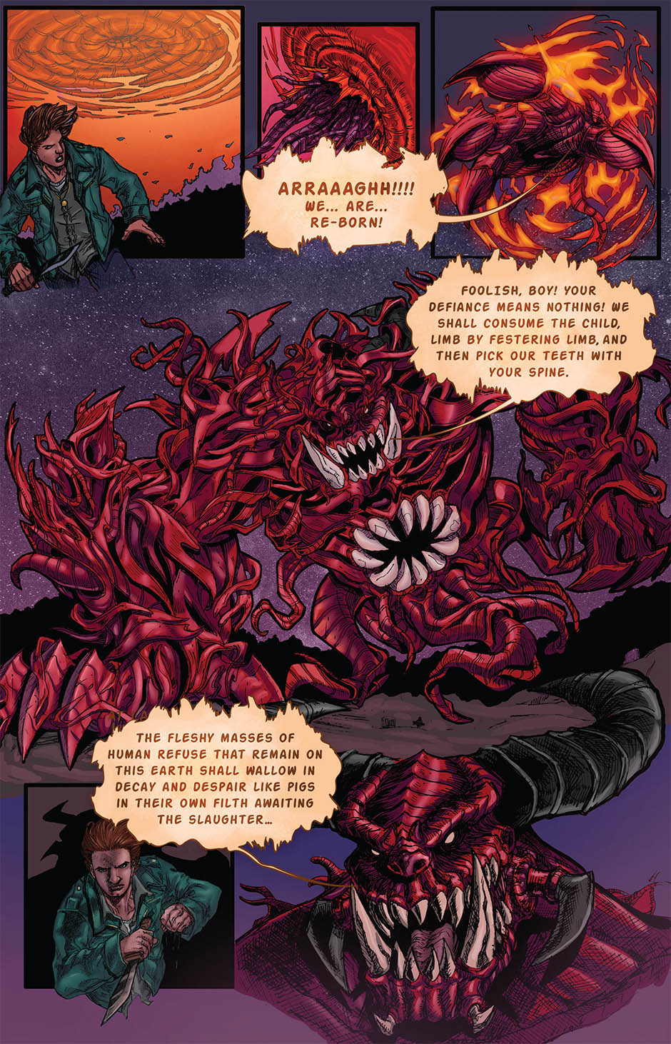ZACHARIAH THORN BOOK 1 Page 21